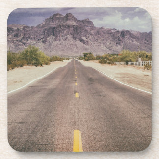 Road to nowhere drink coaster
