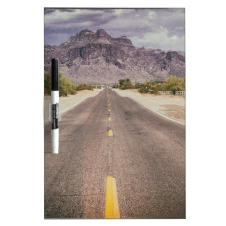 Road to nowhere dry erase board