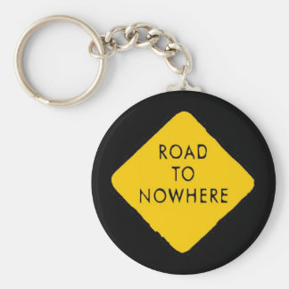 Road to Nowhere Keychain