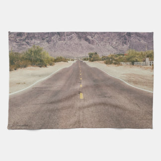 Road to nowhere kitchen towel
