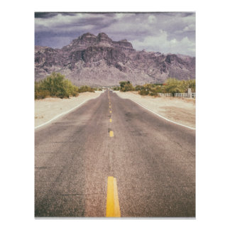 Road to nowhere letterhead