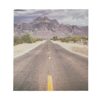 Road to nowhere note pad