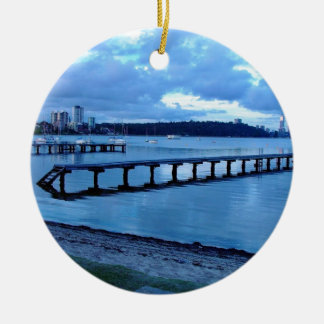 Road to nowhere christmas tree ornament