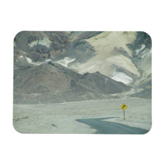 Road to nowhere rectangular photo magnet