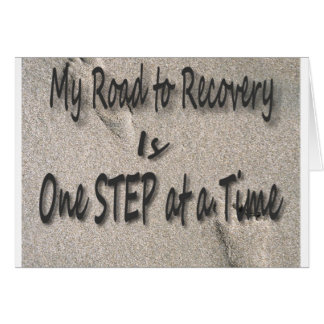 Road To Recovery Greeting Card