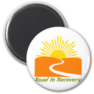 Road to Recovery Gear 2 Inch Round Magnet