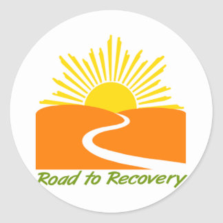 Road to Recovery Gear Classic Round Sticker