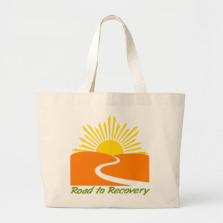 Road to Recovery Gear Large Tote Bag
