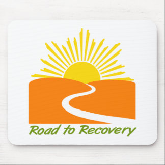 Road to Recovery Gear Mouse Pad
