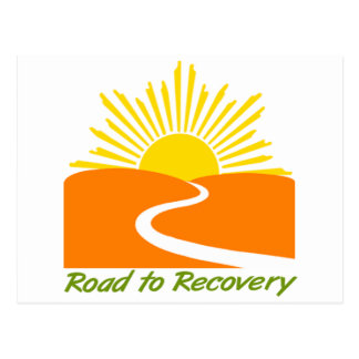 Road to Recovery Gear Postcard