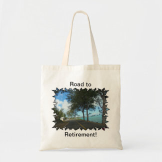 Road to Retirement Tote Bag
