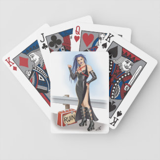 Road to Ruin Bicycle Playing Cards