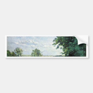 Road To Sevres By Corot Jean-Baptiste-Camille (Bes Bumper Stickers
