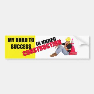 Road To Success Bumper Sticker