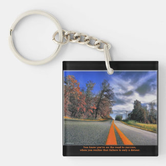 Road to Success Acrylic Key Chains