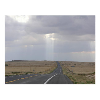 Road To The Light Postcard