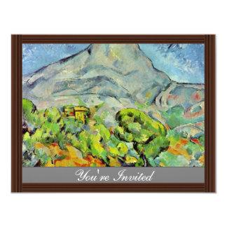 Road To The Montagne Sainte-Victoire Personalized Announcements
