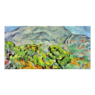 Road To The Montagne Sainte-Victoire Photo Card Template