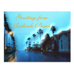 Road to the Ocean on a Rainy Evening Post Cards