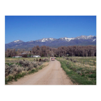 Road To the Ranch Postcard