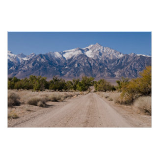 Road to the Sierras Poster