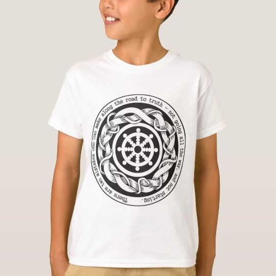 Road to Truth Dharma Wheel T-Shirt