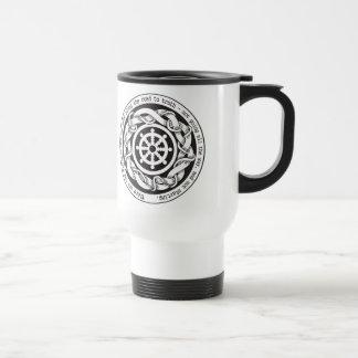 Road to Truth Dharma Wheel Travel Mug