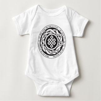 Road to Truth Endless Knot Baby Bodysuit