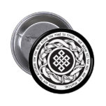 Road to Truth Endless Knot Button