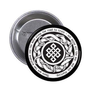 Road to Truth Endless Knot 2 Inch Round Button