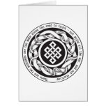 Road to Truth Endless Knot Card
