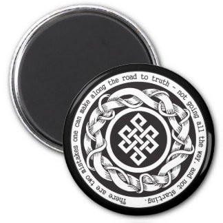 Road to Truth Endless Knot Refrigerator Magnets