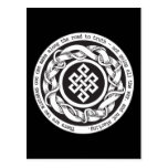 Road to Truth Endless Knot Post Cards