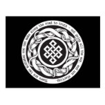 Road to Truth Endless Knot Postcards