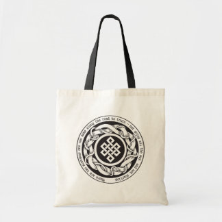 Road to Truth Endless Knot Tote Bag