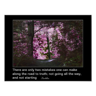 Road To Truth Inspirational Quote Posters