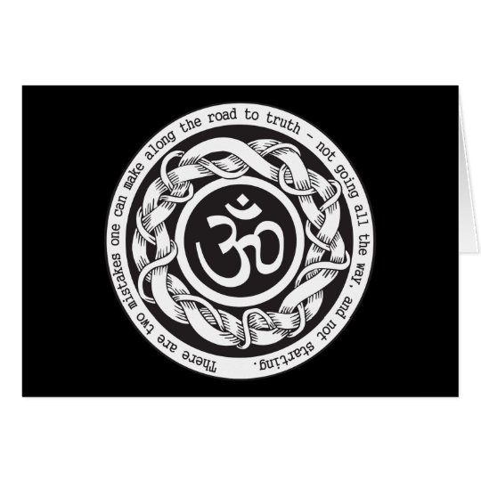 Road to Truth Om Card