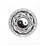 Road to Truth Yin Yang Post Cards
