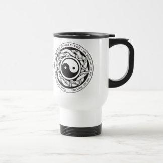 Road to Truth Yin Yang Travel Mug