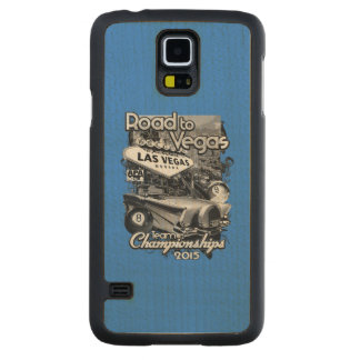 Road to Vegas 2015 Carved® Maple Galaxy S5 Slim Case
