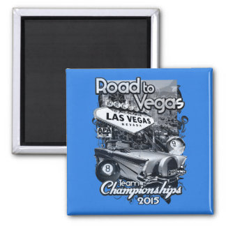 Road to Vegas 2015 Magnet