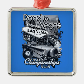 Road to Vegas 2015 Metal Ornament