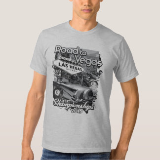 Road to Vegas 2015 T-shirt