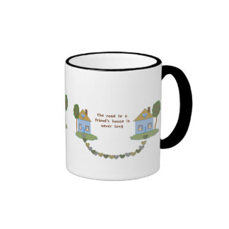 road to your friend - Mug