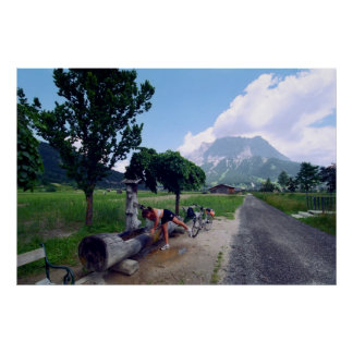 Road to Zugspitze Print
