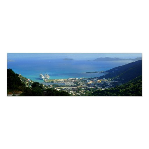 Road Town, Tortola, BVI Poster