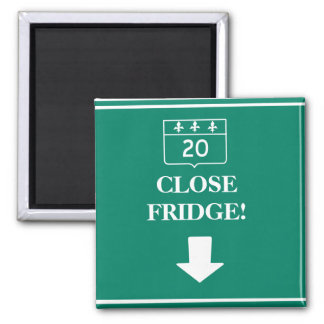 Road Traffic Sign Close Fridge! Refrigerator Magnets
