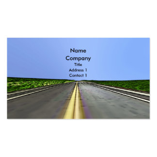 Road Travel - Business Double-Sided Standard Business Cards (Pack Of 100)