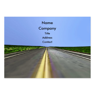 Road Travel - Chubby Large Business Cards (Pack Of 100)