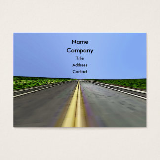 Road Travel - Chubby Business Card